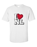 Mens - I LUV NL - White