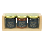 Dark Tickle - Gift Box - Partridgeberry, Bakeapple and Wild Blueberry Spread - 3x34ml