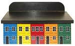 Hand Painted - Rowhouse Mailbox