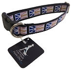 Dog Collar - Newfoundland  Flag