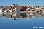 Canvas Photo  - 8 x 10 - Waterfront Mirror - Reflection