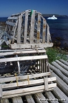Canvas Photo - 11 x 14 - Lobster Pots in Witless Bay
