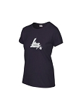 Ladies - T Shirt  - Home - Blackberry