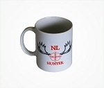 Newfoundland  Hunter with orange crosshairs - Mug