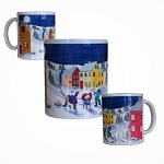 Mummer Winter Scene  - Mug