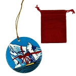 Ornament - Bobbi Pike - Porcelain w storage bag - 3