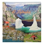 Calendar - Newfoundland and Labrador  2020 -  Wall  - 12