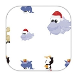 Gift Wrap - Christmas Critters