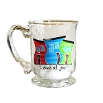 Beer Stein - Hand Painted - Jelly Bean Row - I dies at You!