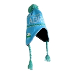 Adult Toque - Labrador Flag - Light Blue w/ Green