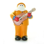 The Mummers Parade - Musical Figurine w/Guitar