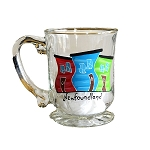 Beer Stein - Hand Painted - Jelly Bean Row - Newfoundland