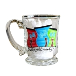 Beer Stein - Hand Painted - Jelly Bean Row - 'Owshegettinonb'y?!