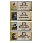 Newfoundland Sayings From Newfoundland 100% Dark Chocolate Bars ( Set of 4)