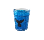 Shot Glass - Freezer Safe - Newfoundland  & Labrador - Whale Tail - Blue