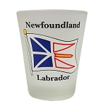 Shot Glass - Frosted Newfoundland and Labrador
