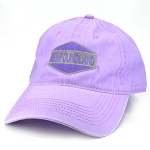 Purple Twill Cap with Patch - Newfoundland