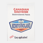 Embroidered Patch - Newfoundland