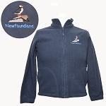 Youth - Micro Fleece Zip Up Jacket - Puffin - Navy