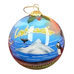 Hand Painted Bulb Ornament - Labrador