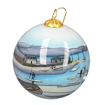 Hand Painted Bulb Ornament - Ice Pans