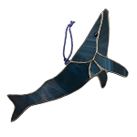 Stained Glass Sun Catcher - Humpback Whale