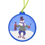 Mummer with Violin Ornament - Round