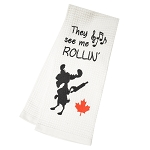 Dish Towel - They See Me Rollin'