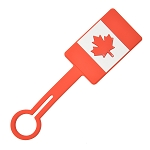 Luggage Tag - Canada Flag