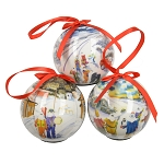 Collectors Mummer LED Musical Ornaments - Set of 3
