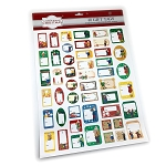 NL Mummers Gift Tag Stickers