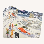 Mummer Placemat and Coaster Set - Mummers on Signal Hill