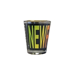 Shot Glass - Newfoundland  and Labrador - Gold Trim
