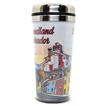Travel Mug - Watercolour Newfoundland Scene