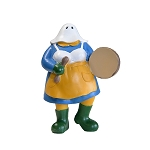 Ornament - Musical Mummer - The Mummers Parade - Bodhran Drum