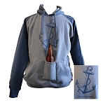 Hoodie - Adult - Driftwood Anchor Newfoundland - Beer Pocket