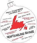 Ornament Handpainted  - Newfoundland Sayings 3