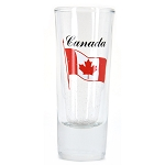 Canada Shooter Glass