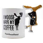 Moose Bathrobe Mug