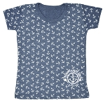 Kids - All Over Anchor T-Shirt