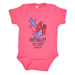 Sleepy Lobster Onesie - Hot Pink