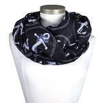 Infinity Scarf with Anchors
