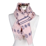 Scarf with Anchors