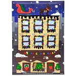 Newfoundland Chocolate - Advent Calendar - 24 Milk Chocolate Pieces - 144g
