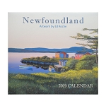 2019 Calendar - Newfoundland - Artwork by Ed Roche - 14 x 12