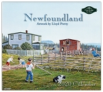 Newfoundland  -  2020 Calendar - Artwork by Lloyd Pretty