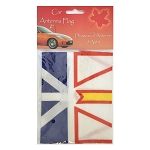 Car Antenna Flag - Newfoundland Flag -5