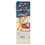 Gift Bag - Mummers Sleigh Ride - Wine Bag - 14.17
