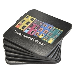 Coasters  Rowhouse Newfoundland and Labrador - Pk of 4 - 4