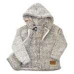 Children's Ultra Soft Fleece Jacket - Frosted Linen